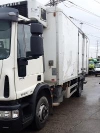 יורוקרגו משאית ארגז קירור ודופן 4X2