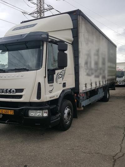 האופנה האופנתית משאיות איווקו למכירה - איווקו טרייד אין 2013   משאיות יד שניה MV-58