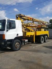 דאף משאית עבודה משאבת בטון 6X4