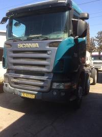 סקניה משאית שלדה 8X4