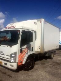 איסוזו משאית ארגז קירור מבוקר 4X2