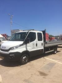 דיילי משאית ארגז פתוח תא כפול אוטומט 4X2