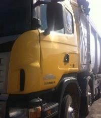 סקניה משאית רכינה 8X4